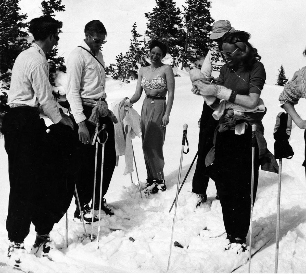 1974.065.0044_Group of Skiers, 1947-