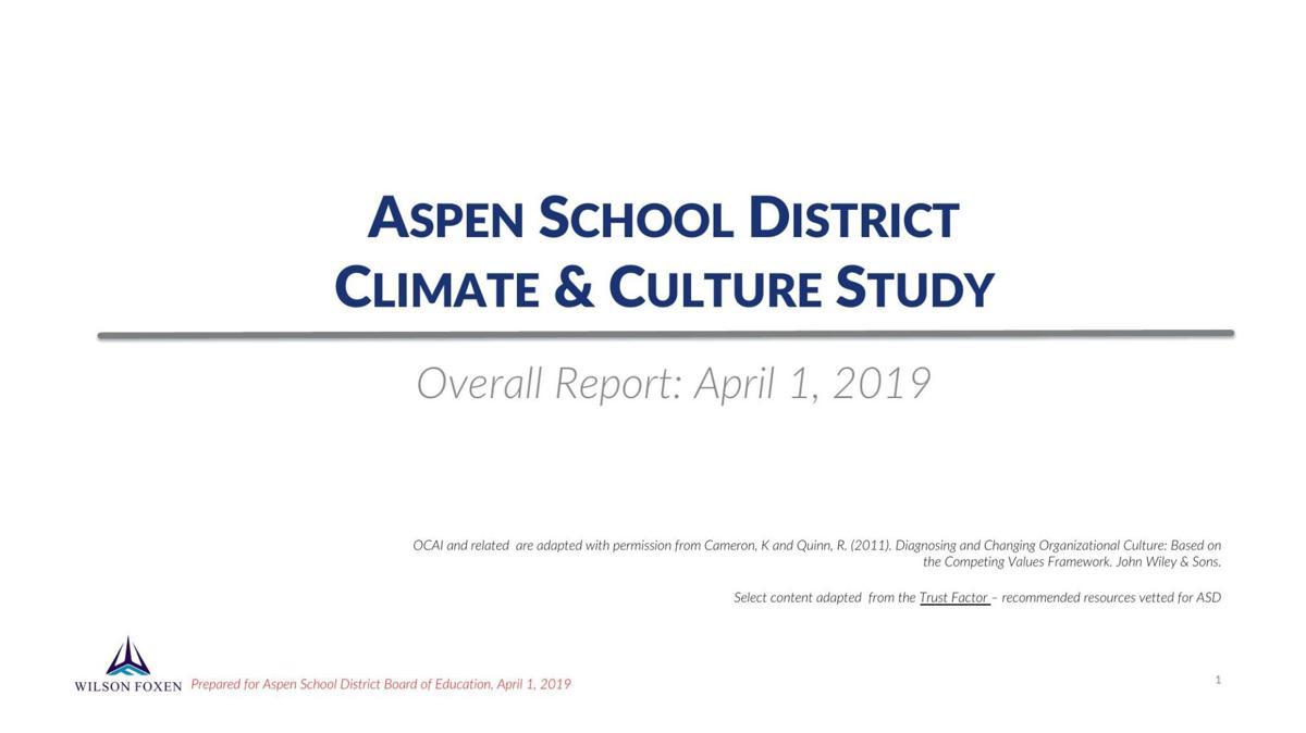 ASD Cimate study report