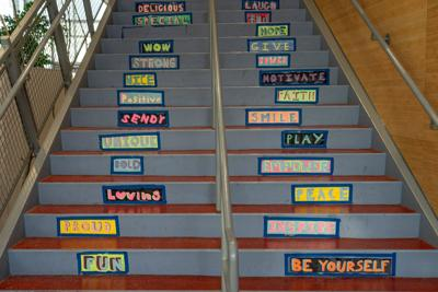 Middle school steps