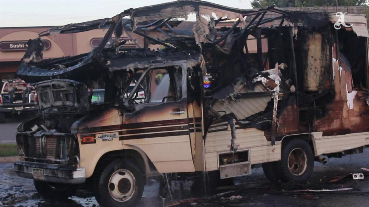 Carbondale RV Fire