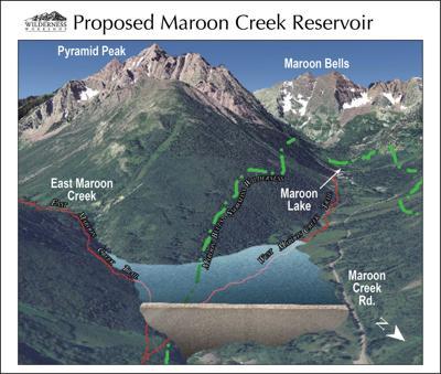 Maroon Creek Dam