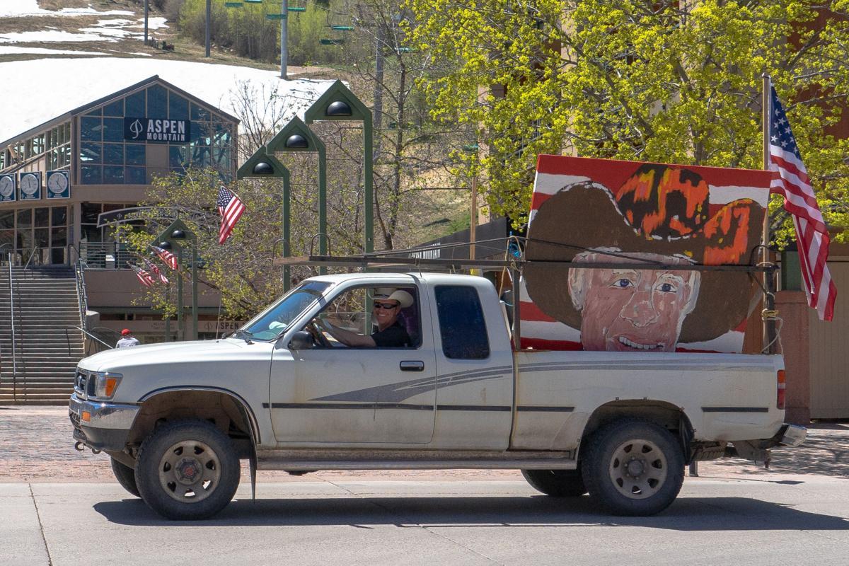 Mulcahy in truck