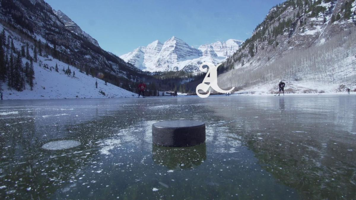 Video: Hockey at the Maroon Bells