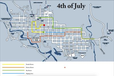 4th of july map