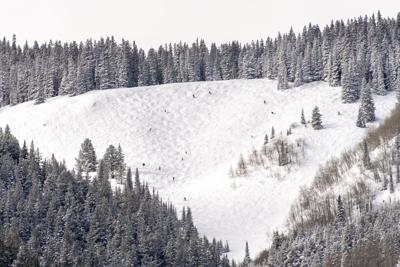 Out-of-bounds skiers rescued below Aspen Mountain's Walsh's run