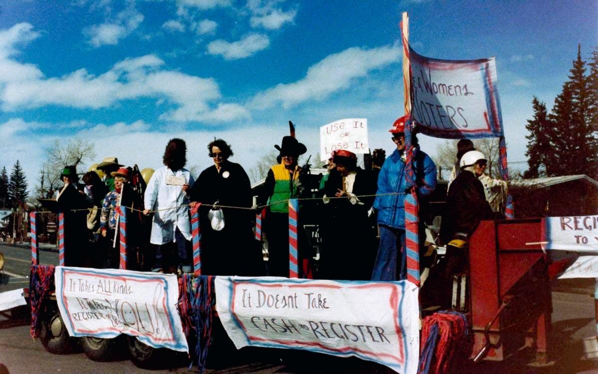 Local 2020 1980 Winterskol parade