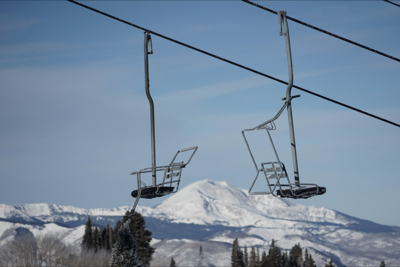 Chairlift chairs