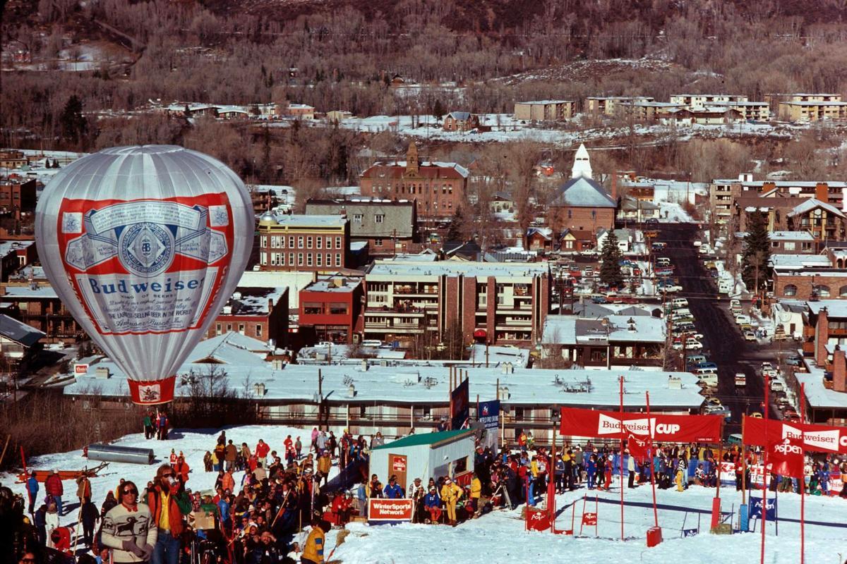 Ski race 1975