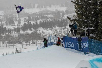 Mark McMorris Snowboard FIS World Championship Big Air Finals