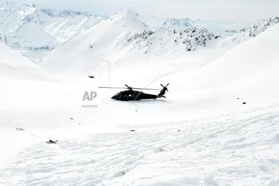 downed helicopter