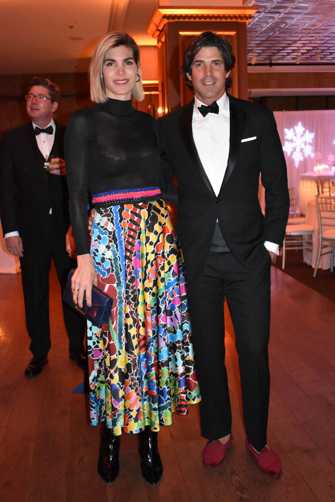 Delphina Figueras in Missoni, with husband Nacho.JPG