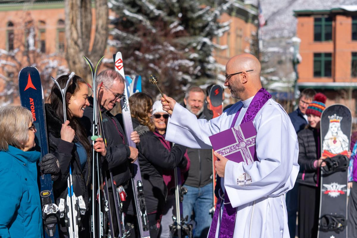 Blessing of the skis