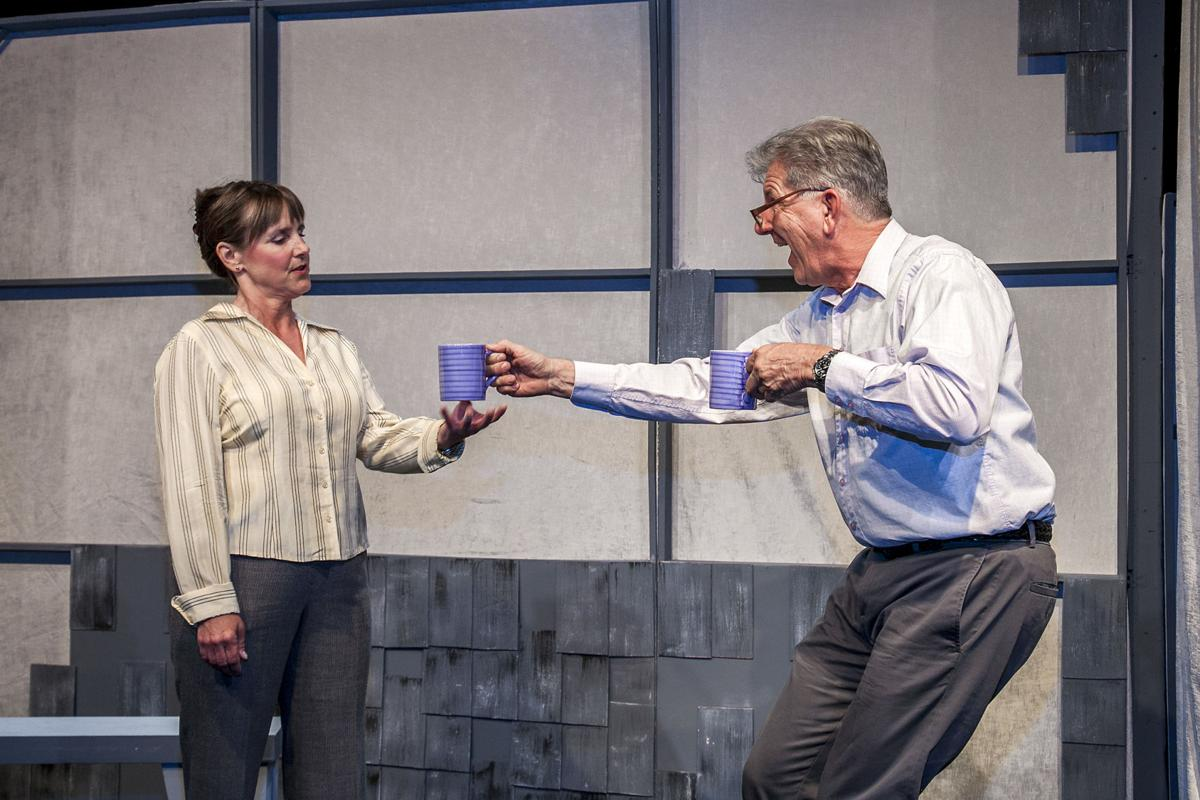 """Kelly Ketzenbarger and  Mike Monroney in """"The Other Place"""""""
