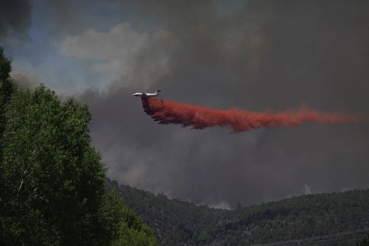 Lake Christine Fire Missouri Heights under mandatory evacuation