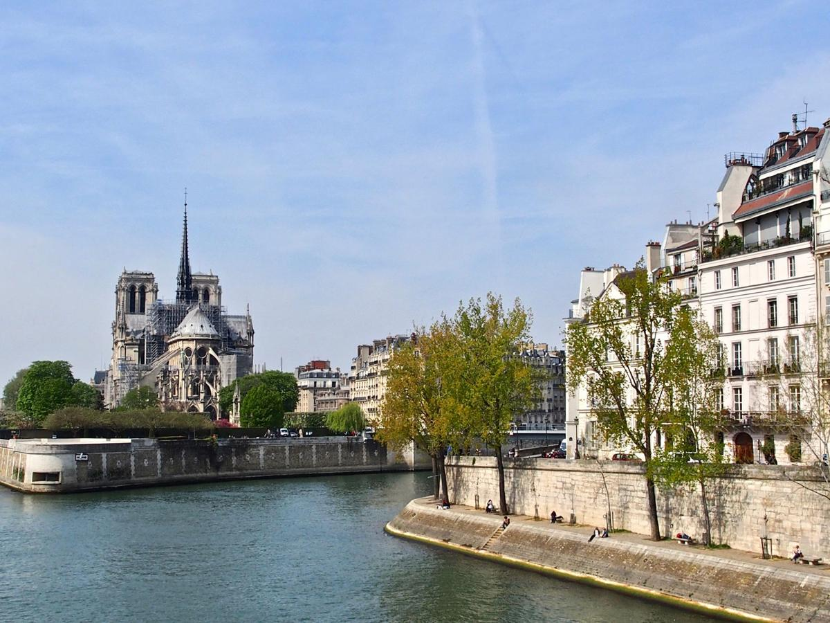 Notre Dame Shortly Before the Fire 4-15-19