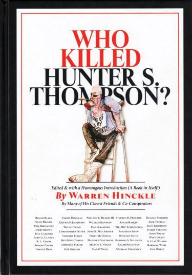 Hunter S. Thompson Book Cover