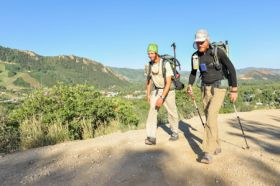 Duo on the trail to 'through hike' all of Colorado's 58 fourteeners