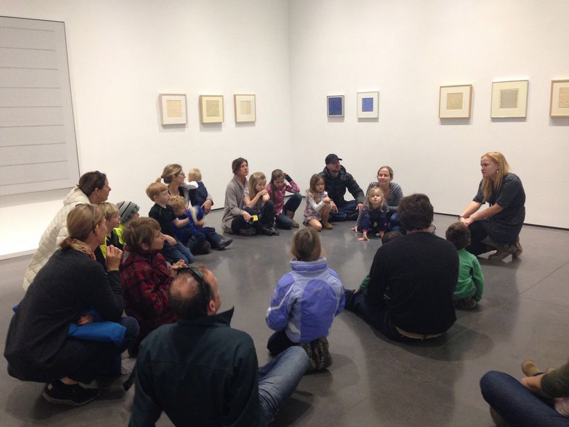 Family Workshop in the Gallery