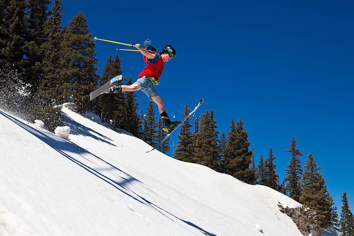 Summer skiing Ajax 1