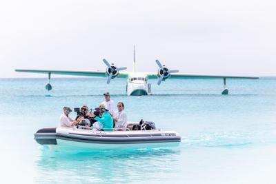 flying boat crew