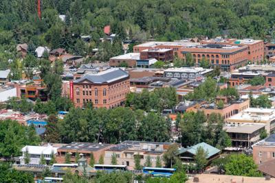 Aspen town view