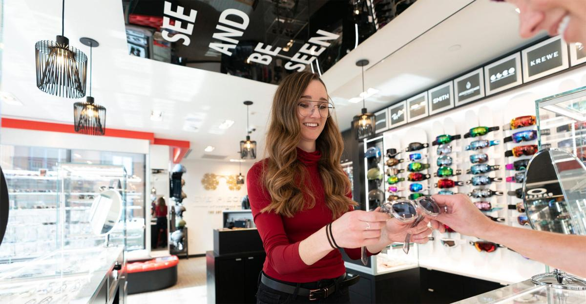 Eye Pieces helps customers see and be seen