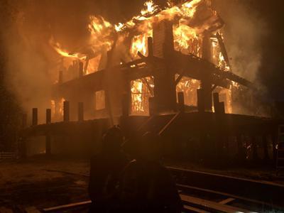Missouri Heights fire
