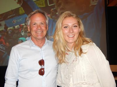 David Perry and Mikaela Shiffrin