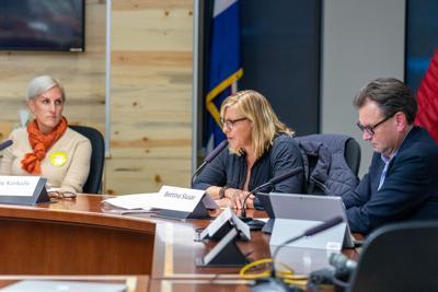 Patsy Kurkulis, Bettina Slusar and Jonathan Nickell