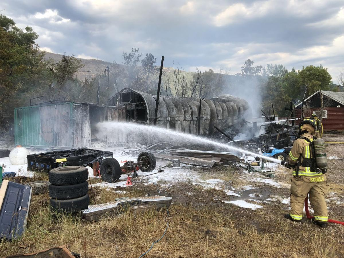 Ammunition among the fuels that gave boost to Tree Farm Road fire