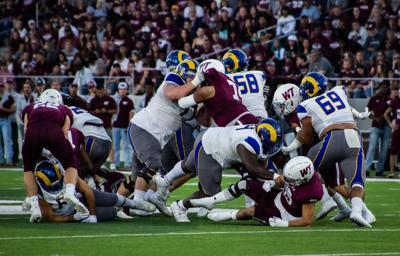 Rams Football @ West Texas A&M 10/9/2021 #3