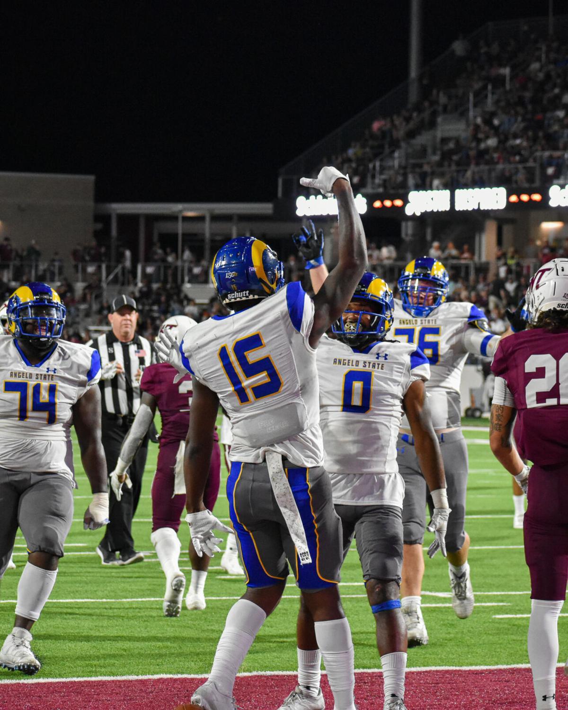Rams Football @ West Texas A&M 10/9/2021 #2