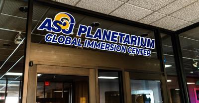 ASU Planetarium Sign