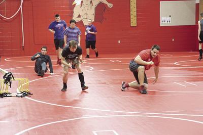 Redmen wrestling