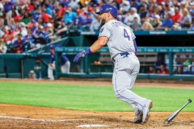 Royals Rangers Baseball