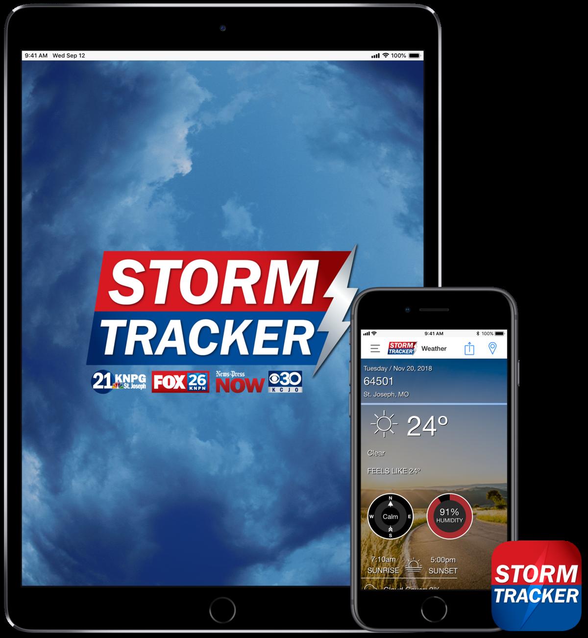 Storm Tracker Weather App