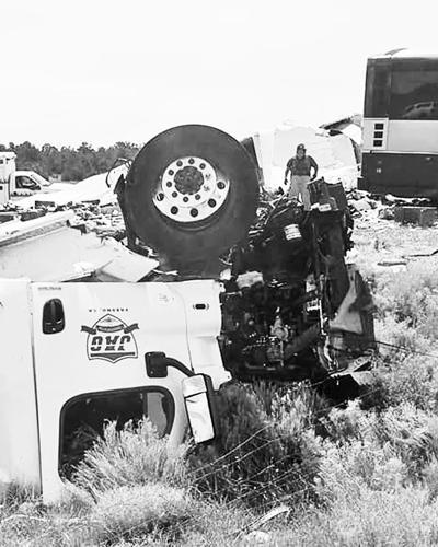 At Least 7 Die In Bus Truck Wreck