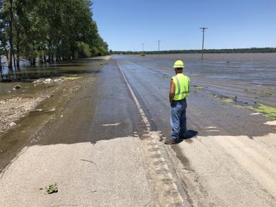 Highway 59 Flooded