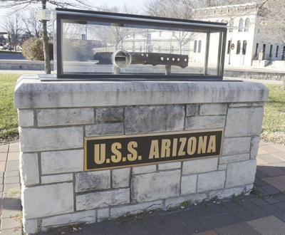 USS Arizona relic