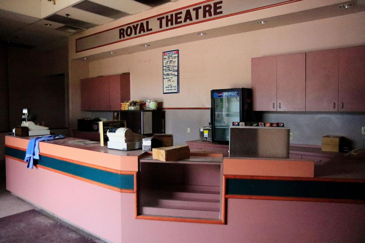 Kansas atchison county lancaster - The Concessions Area At The South Entrance Of The Royal Theatre In Atchison Remains Stocked With Some Equipment From When It Closed In 2014