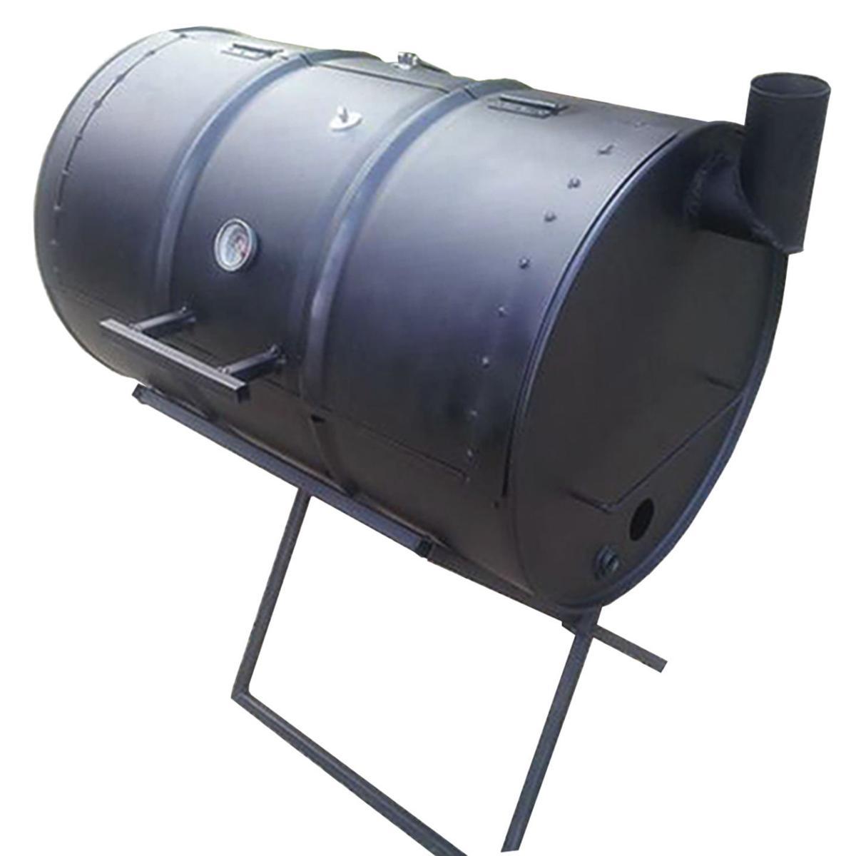 Weekend Warrior: DIY oil-drum BBQ smoker