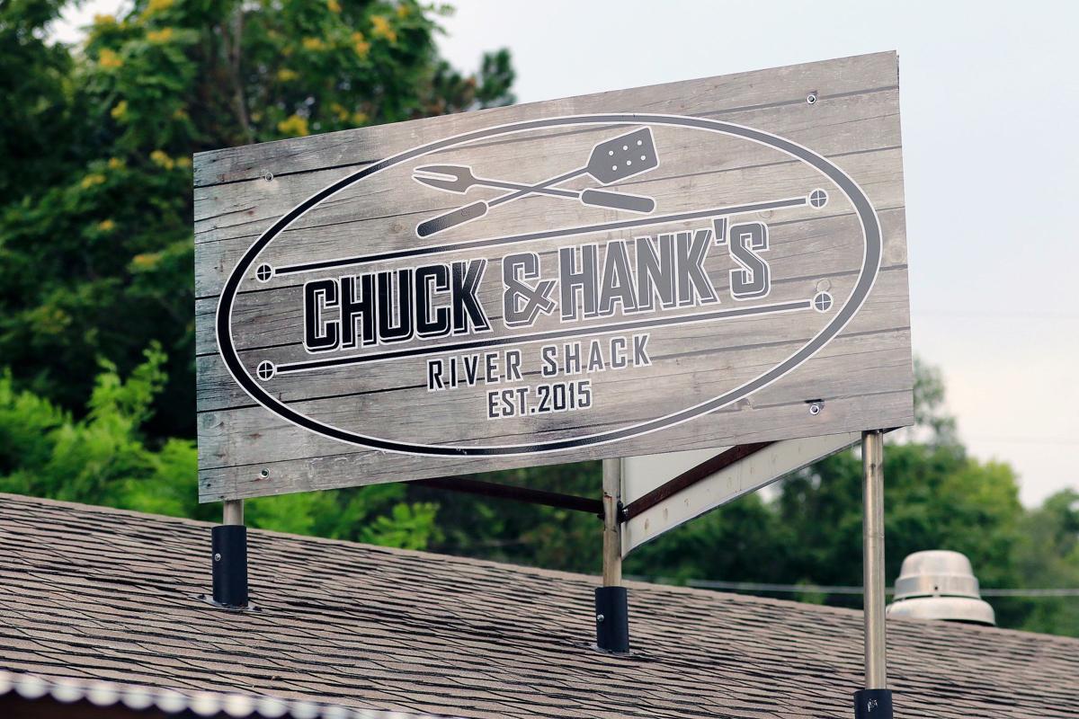 Chuck  & Hank's River Shack offers views, brews and BBQ
