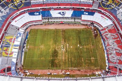 Mexico Azteca Stadium