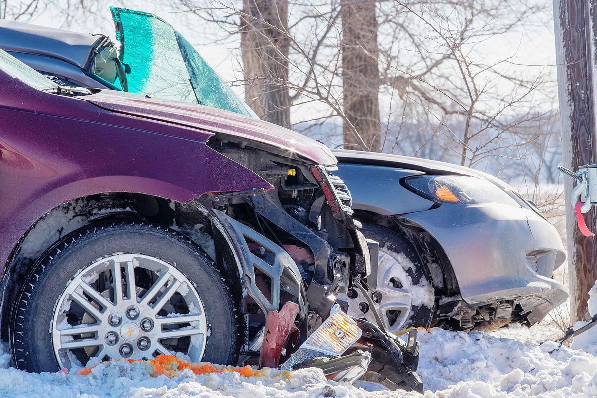 US-59 wreck   Winthrop, Missouri   Jan. 24, 2019