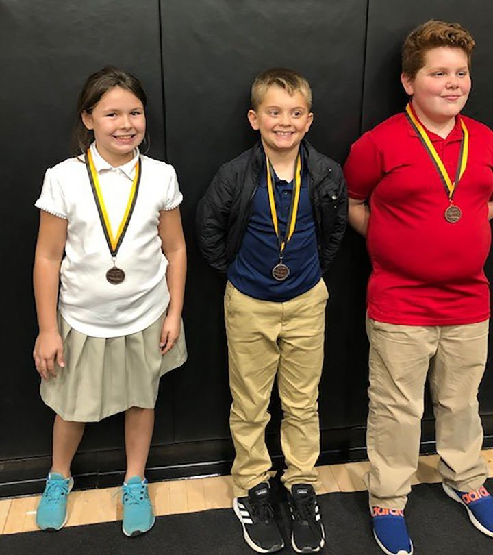 Trinity Lutheran Mathletics achievers grade 4