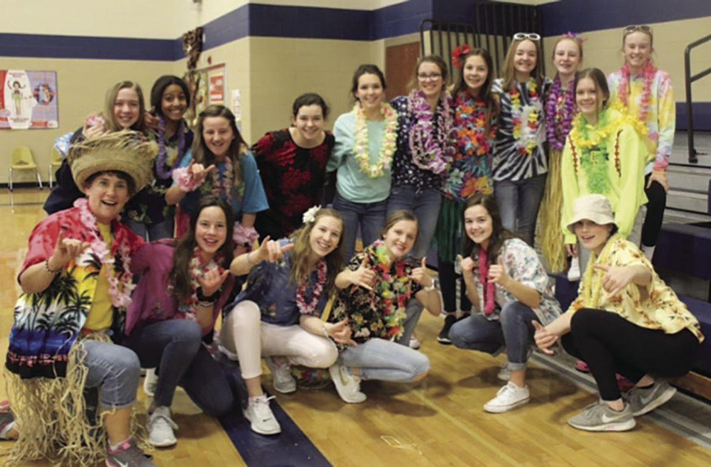 SBCS eighth-grade girls
