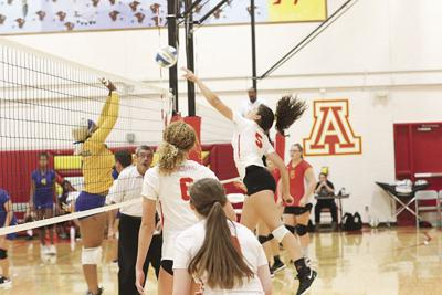 Atchison volleyball