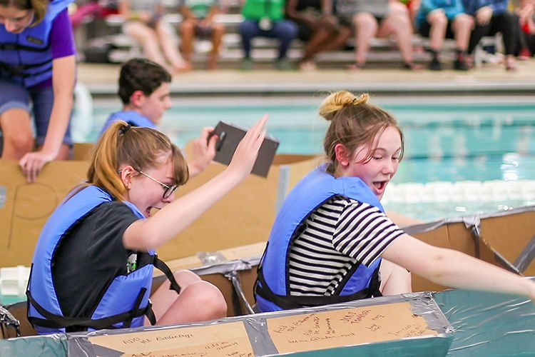 YMCA boat race 1
