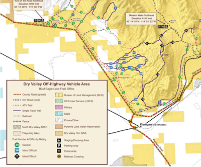 Dry Valley OHV area