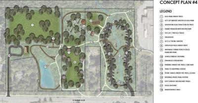 Dinius Park concept plan